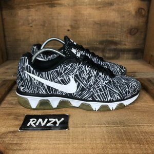 Nike Air Max Tailwind 8 Black White Running Shoes